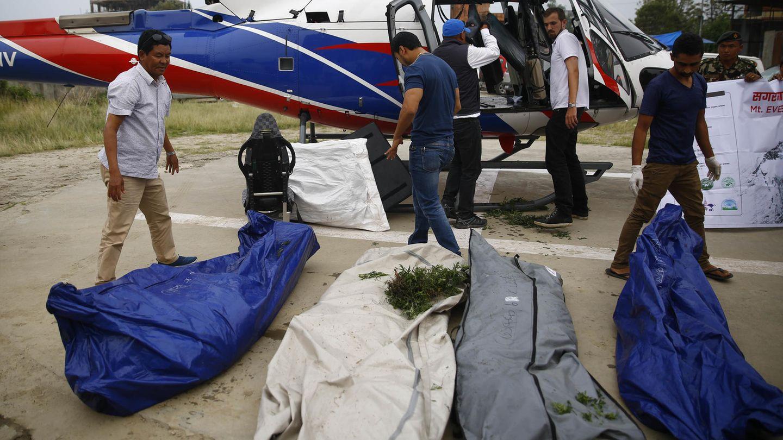 Neben tonnenweise Müll haben Sherpas amMount Everestvier Leichen entdeckt