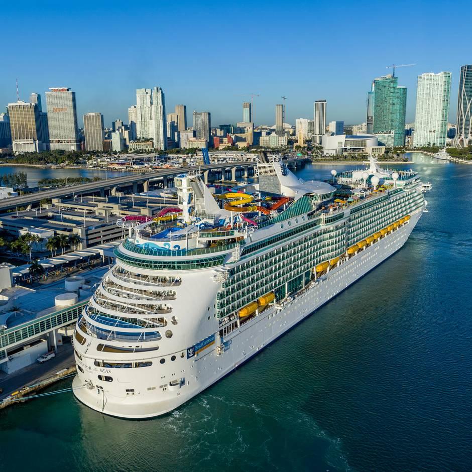 Port Miami: Kreuzfahrt-Hauptstadt Miami: Wo 15.000 Passagiere an einem Tag einchecken