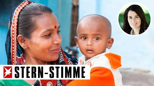 Ingrids Adoptivkinder kamen schon im Kleinkindalter aus Bangladesch (Symbolbild)
