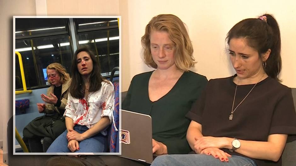 Angriff in London: Von Männern verprügelt: Das sagt das lesbische Pärchen nach der Attacke