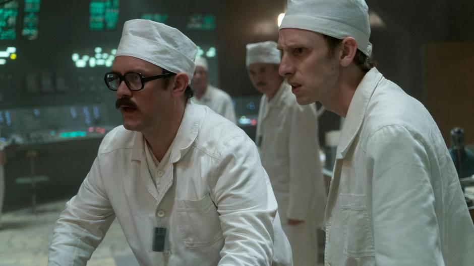 """Sowjetische Wissenschaftler in der HBO-Serie """"Chernobyl"""""""