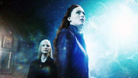 """Szene aus """"X-Men: Dark Phoenix"""". Die Hauptrolle spielt Sophie Turner (Mitte), bekannt aus """"Game of Thrones""""."""
