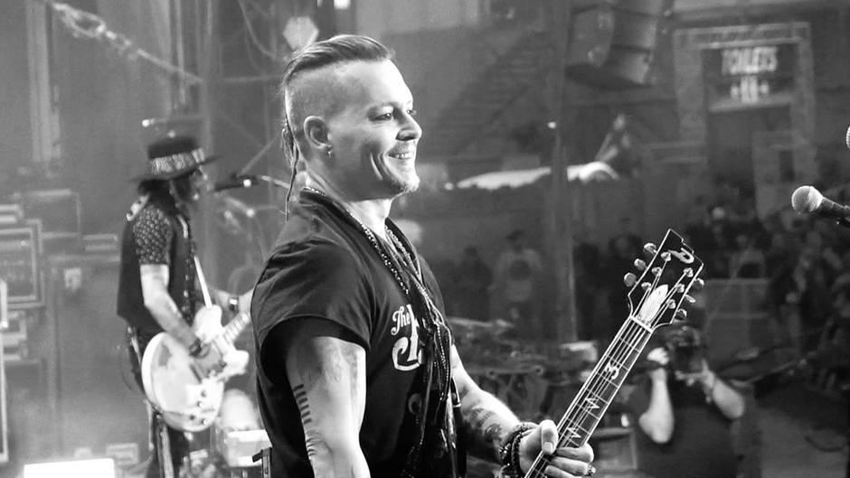 Hollywood-Star als Rocker: Johnny Depp erfüllt sich Geburtstagswunsch und singt sich selbst ein Lied