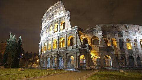 So leer wie hier sieht man das Kolosseum in Rom selten