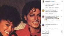 """Ola Ray 1983 an der Seite von Michael Jackson im Video zu """"Thriller"""""""