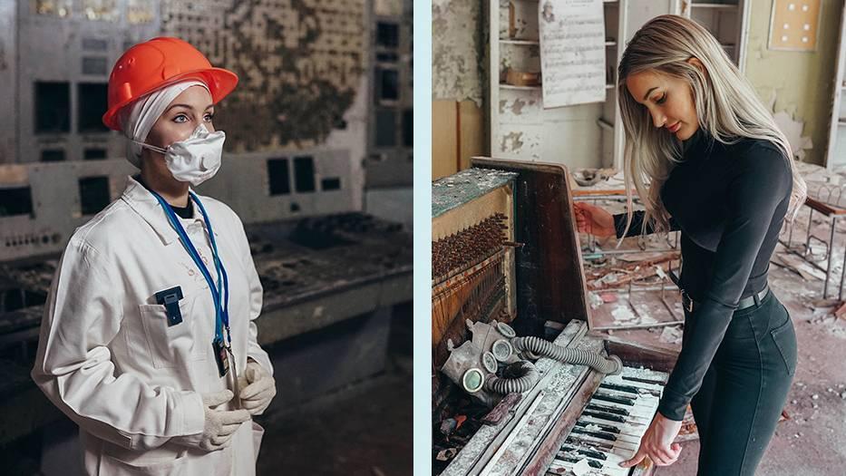 Julia Bässler in Tschernobyl