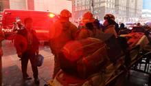 Feuerwehrleute in New York
