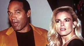 O.J. Simpson und seine Frau Nicole