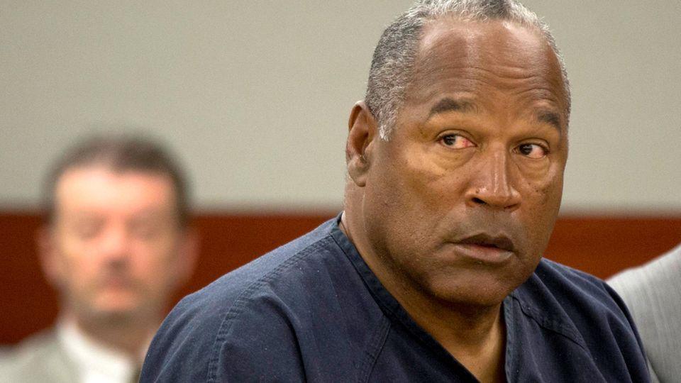 O.J. Simpson im Jahr 2013 vor Gericht