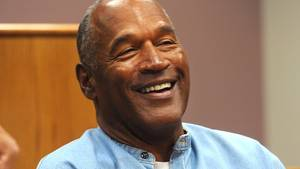 Der ehemalige amerikanische Football-Star O.J. Simpson