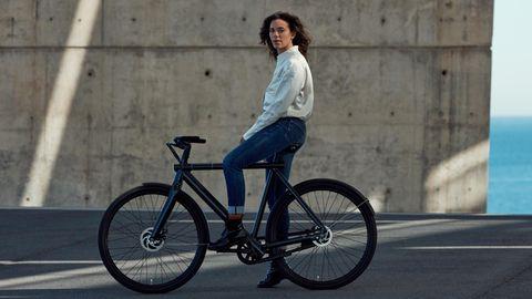 bodenlose fahrrad madchen