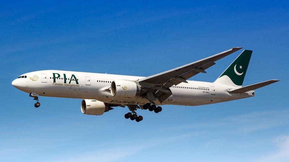 Eine Boeing 777 vonPakistan International Airlines