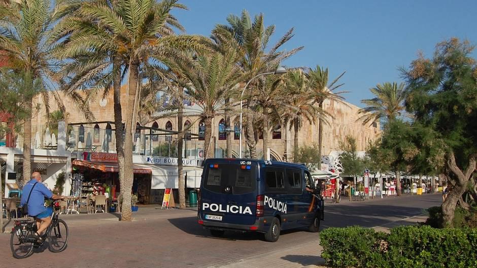 Mallorca - Türsteher verprügelt - U-haft