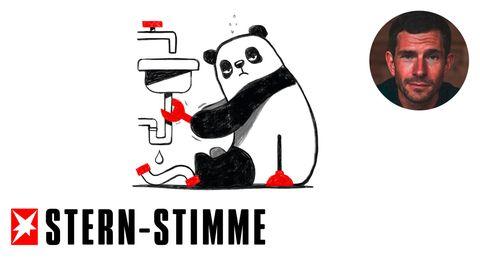 M. Beisenherz: Sorry, ich bin privat hier: Der Panda aus Herne