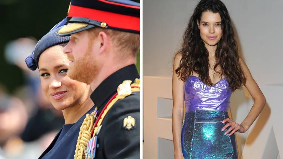 Sarah Ann Macklin: Prinz Harry und die Frauen: Dieses Model soll er anfangs neben Meghan gedatet haben