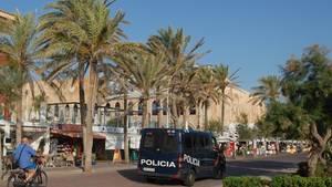 Angriff auf Türsteher in Mallorca
