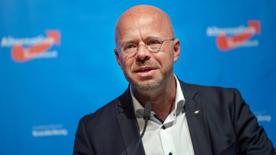 Spitzenkandidatder AfD in Brandenburg Andreas Kalbitz