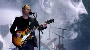 Thom Yorke mit seiner BandRadiohead im Sommer 2017 auf dem TRNSMT Festival in Glasgow