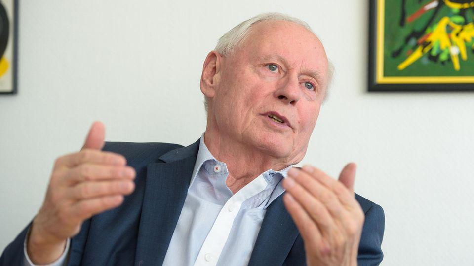 Oskar Lafontaine, Ex-SPD-Chef und Linke-Mitbegründer