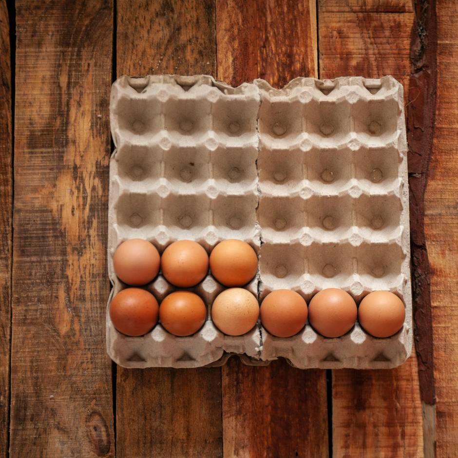 Natürliche Schutzschicht: Warum man Eier nicht in den Kühlschrank legen sollte