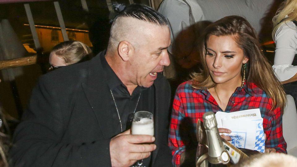 Till Lindemann und Sophia Thomalla