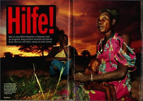 Anlässlich des 20. Todestages von stern-Reporter Gabriel Grüner zeigen wir noch einmal seine bedrückende Reportage aus dem Südsudan vom Herbst 1998. Seine Reportage aus dem Jahr 1992 über Gotteskrieger in Afghanistan können sie hier als PDF herunterladen.