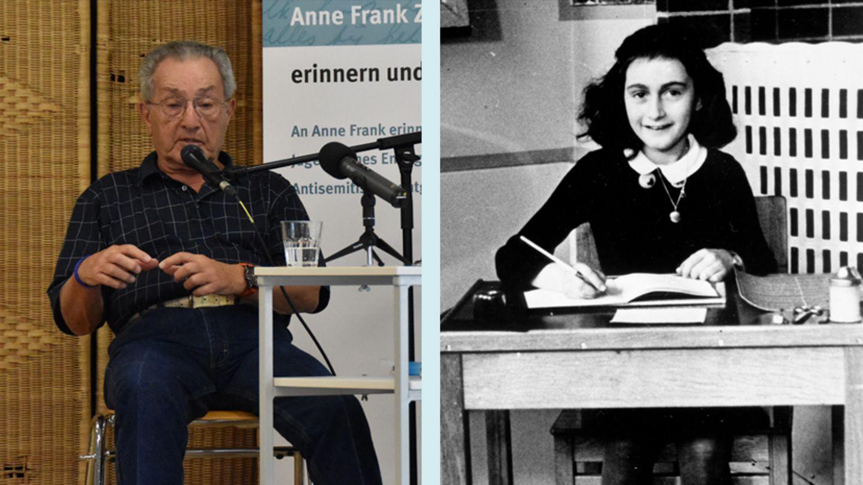 Pieter Kohnstam und Anne Frank