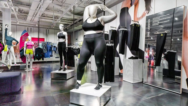 nike plus size puppe