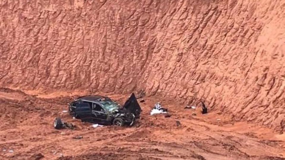 nachrichten aus deutschland pkw in sandgrube gestürzt