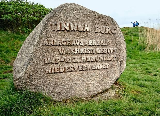 Ein Denkmal, dasaus früheren Jahrhunderten erzählt: die Tinnum-Burg