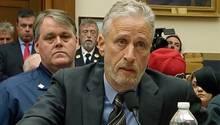 Jon Stewart redet vor US-Kongress