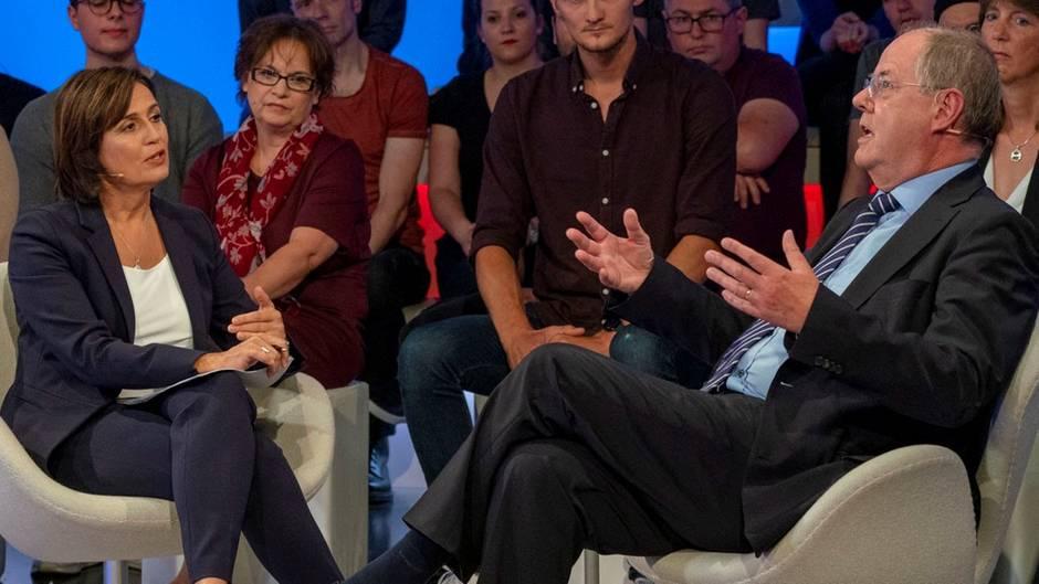 Steinbrück basht bei Maischberger Kühnert, die SPD und die Groko