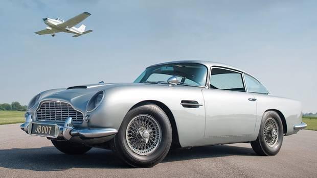 """James Bond: """"007""""-Aston Martin kommt bei Southeby's unter den Hammer"""