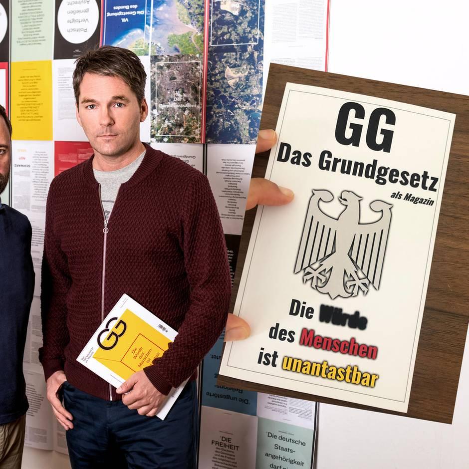 """Verfassung für den Kiosk: """"Grenzt für mich an Betrug"""": """"Mogelpackung"""" von Grundgesetz-Magazin bei Amazon verfügbar"""