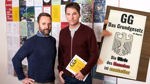 """""""Grenzt für mich an Betrug"""": Amazon bietet """"Mogelpackung"""" von Grundgesetz-Magazin an"""