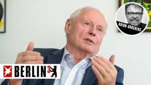 Kolumne Berlin hoch 3 - Oscar Lafontaine zur Fusion von SPD und Linke