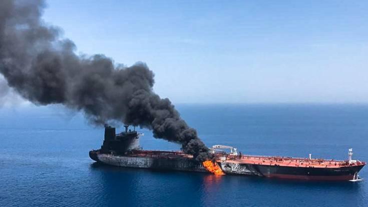 Oman: Zwei Tanker nach mutmaßlichem Angriff in Brand geraten – deutsches Schiff beschädigt