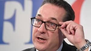 Heinz-Christian Strache, Österreichs ehemaliger Vizekanzler und FPÖ-Chef