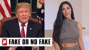 """Donald Trump und Kim Kardashian werden durch """"Deepfakes"""" Worte in den Mund gelegt"""