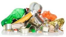 Plastikberge verschmutzen unsere Umwelt