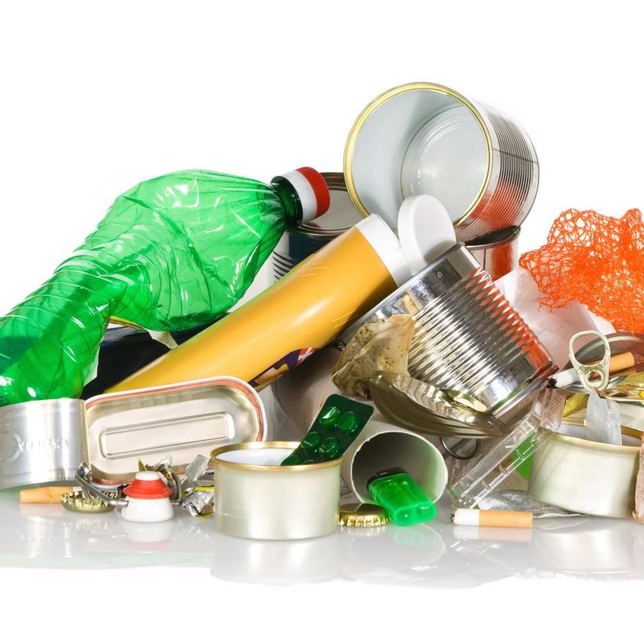 Nachhaltig leben: Plastikmüll vermeiden: Mit diesen Tipps produzieren Sie weniger Abfall
