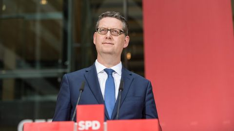 Der kommissarische SPD-Chef Thorsten Schäfer-Gümbel