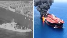 US-Militär veröffentlicht Video zu mutmaßlichen Tanker-Angriffen