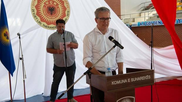 Frank Thomsen vom stern bei seiner Ansprache
