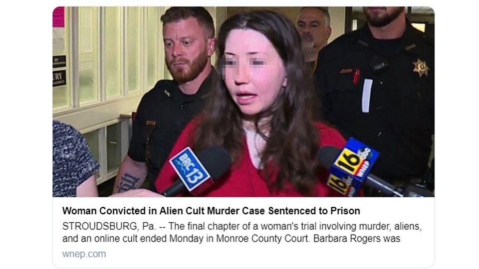 """Wie """"WNEP"""" berichtet, muss Barbara Rogers ins Gefängnis. Sie hatte ihren Freund 2017 erschossen."""