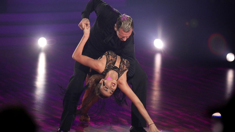 "Pascal Hens bei einem seiner ""Let's Dance""-Finaltänze mit Tanzpartnerin Ekaterina Leonova"