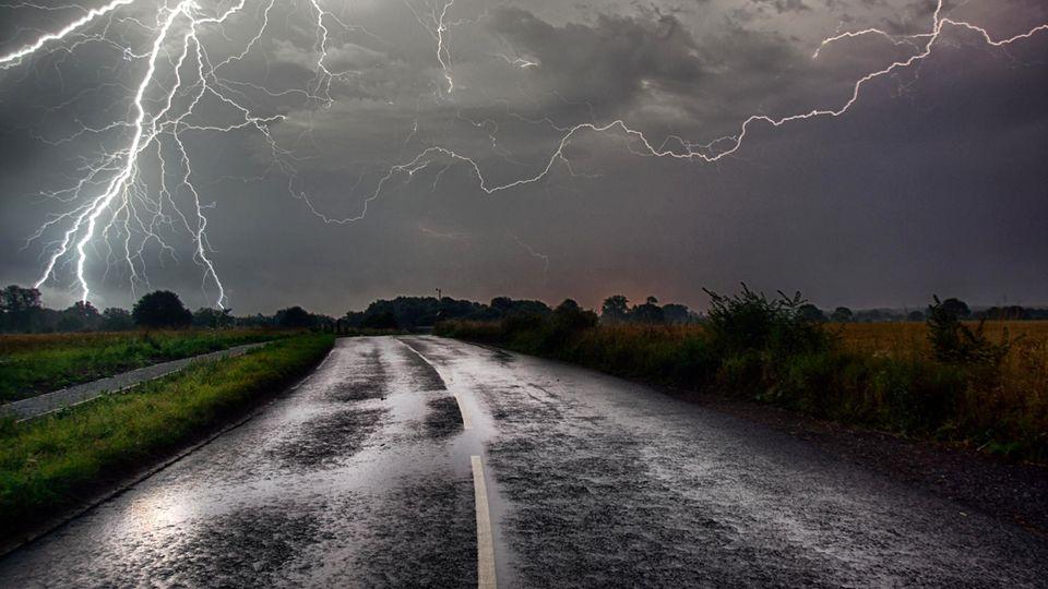 Unwetter im Norden Deutschlands erwartet