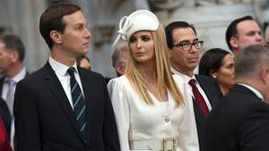 Ivanka Trump und Jared Kushner in Westminster Abbey