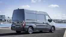 Der Renault Master ist 5,58 Meter lang