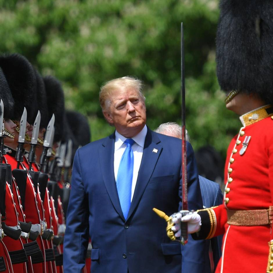 """Neue Attacke auf Sadiq Khan : Trump: """"London braucht so schnell wie möglich einen neuen Bürgermeister"""""""
